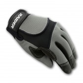 YOUTH MX GLOVES - SILVER/BLACK