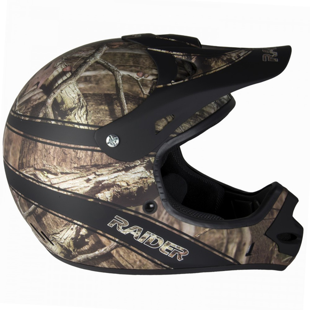 Blaze Orange Break-Up Infinity Camo, Small Raider Ambush Mossy Oak Unisex-Adult MX Off-Road Helmet