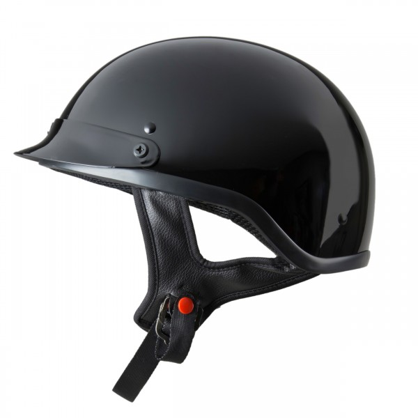 RAIDER® HALF HELMET - GLOSS BLACK (#26-619GB)