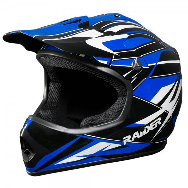 RAIDER® GX3 YOUTH MX HELMET (BLUE)