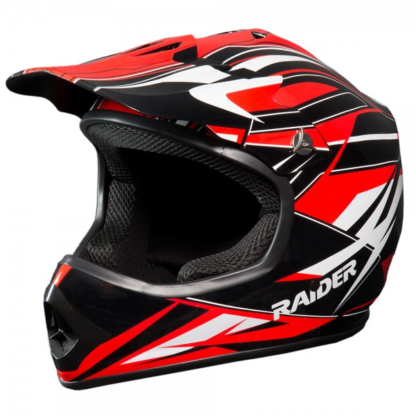 RAIDER® GX3 YOUTH MX HELMET (Red)