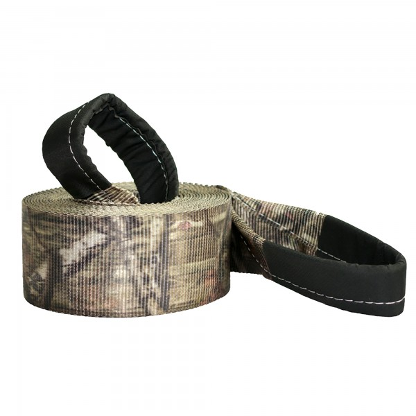 """RPS OUTDOORS - MOSSY OAK®  INFINITY SERIES CAMO RECOVERY STRAP / 20,000 lbs. Break Strength (4"""" x 30') #SI-2046MO"""