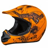 RAIDER® AMBUSH ADULT MX HELMET - MOSSY OAK / BLAZE ORANGE CAMO (#24-630-MOB)