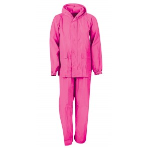 YOUTH ADVENTURE RAINSUIT - Fuchsia (#51-128F)
