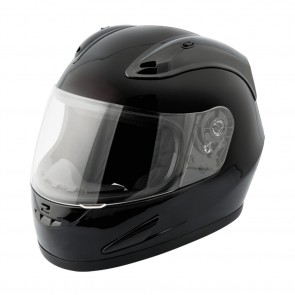 RAIDER® OCTANE FULL FACE HELMET / GLOSS BLACK (#55-568)
