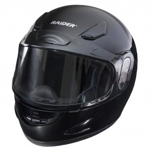 RAIDER® FRENZY SNOW HELMET / GLOSS BLACK (#26-680)