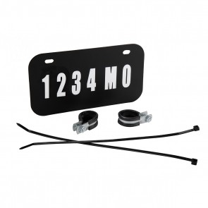 RAIDER® ATV/UTV LICENSE PLATE KIT (#FS-12000)