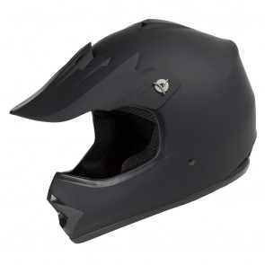 RAIDER® GX3 YOUTH MX HELMET (Matte Black)