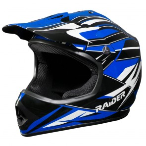 RAIDER® GX3 YOUTH MX HELMET (BLUE)