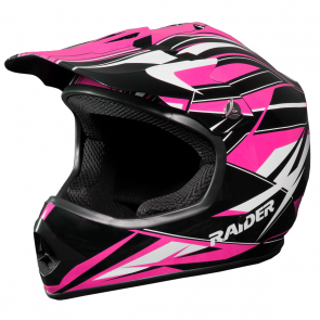 RAIDER® GX3 YOUTH MX HELMET (PINK)