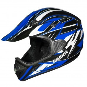 Raider RX1 MX HELMET / BLUE