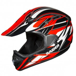 Raider RX1 MX HELMET / RED