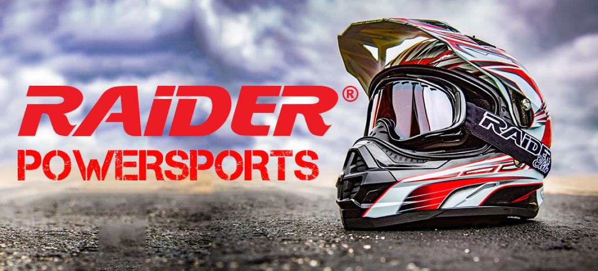 2016 Raider Helmets